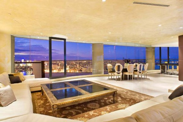 Sydney Fabulous Penthouse, Luxury Interior Ideas - Panoramic View
