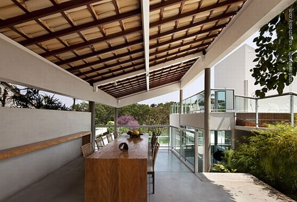 Unusual Architecture from A Modern House in Brazil - Two Stories