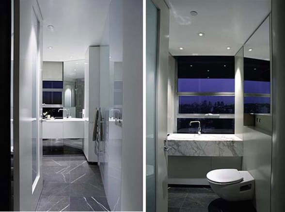 Astonishing Apartment with Modern Style Design in Sydney - Bathroom