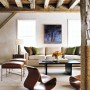 Contemporary House Design from a Barn with High Quality Wood Furniture: Contemporary House Design From A Barn With High Quality Wood Furniture   Living Room With Wooden Couch