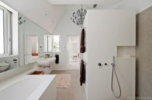 Contemporary Villa Design with Swimming Pool by MCK Architect - Bathroom