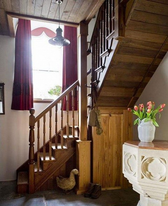 Georgian House Design made from Old Church in England - Staircase