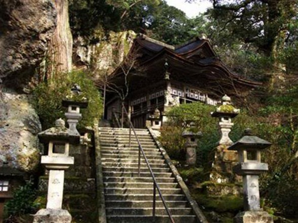 Guinness World Records of the Oldest Hotel, the Hoshi Ryokan Hotel - Outdoor Staircase