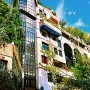 Hundertwasserhaus, Great Green Building Landmarks of Vienna: Hundertwasserhaus, Great Green Building Landmarks Of Vienna   Water Plant