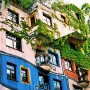 Hundertwasserhaus, Great Green Building Landmarks of Vienna: Hundertwasserhaus, Great Green Building Landmarks Of Vienna   Windows