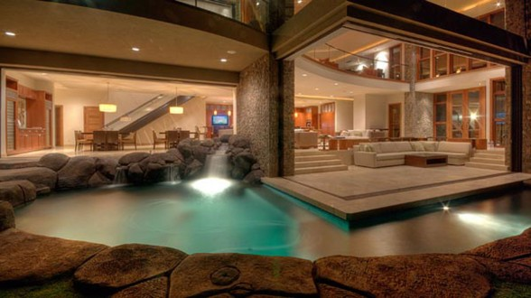 Luxurious Villa Design in Hawaii with Great Landscapes - Pool