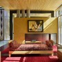 Mad Parks Residence with Artsy Decor and Sculpture Art: Mad Parks Residence With Artsy Decor And Sculpture Art   Cozy Living Room