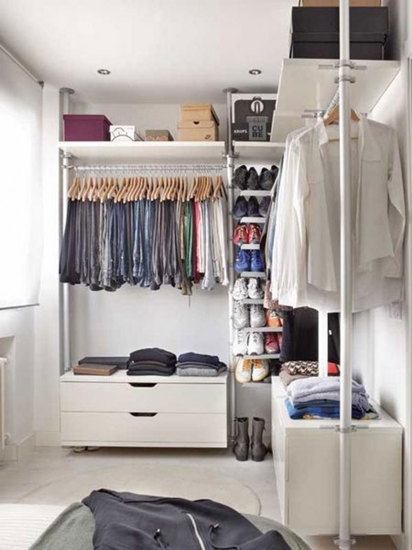 Modern Apartment Ideas for Young Professional - Wardrobe