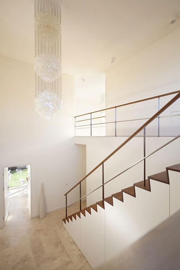 Modern Interior Design from a Solid Concrete House by Atelier ST in Germany - Staircase
