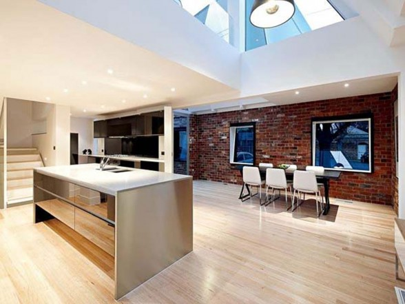 Modern Interior Design of an Industrial Style Home in Melbourne - Kitchen