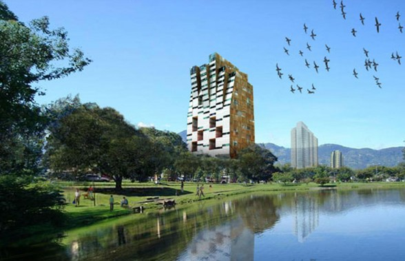 Modern Tower Design in Costa Rica, Impressive Architecture of a Strange Tower