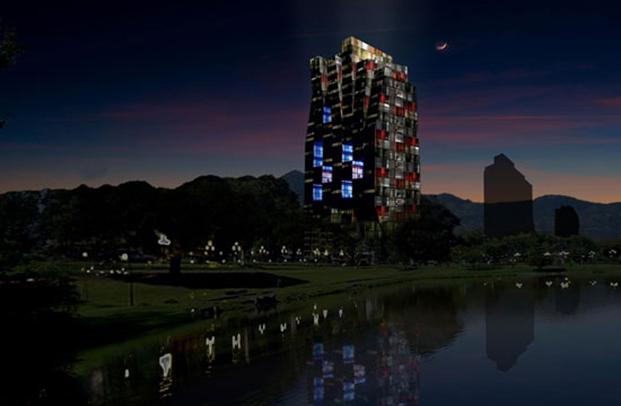Modern Tower Design In Costa Rica, Impressive Architecture Of A ...
