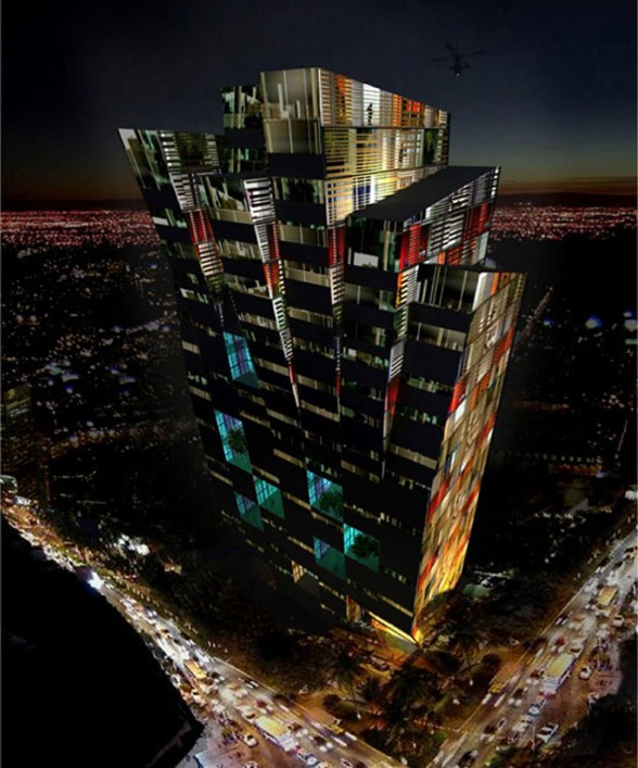 Modern Tower Design in Costa Rica, Impressive Architecture of a Strange Tower - Overview