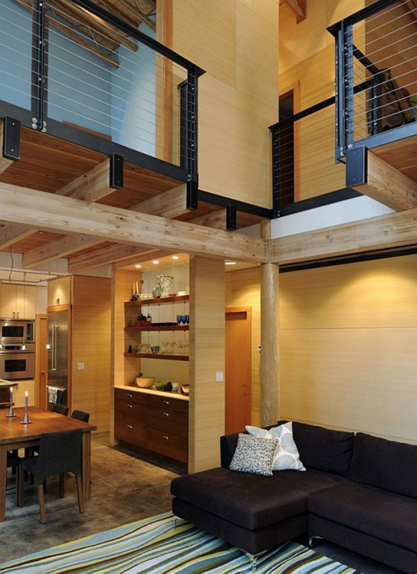 Mountain Guide Houses, a Johnston Architects Design - Livingroom