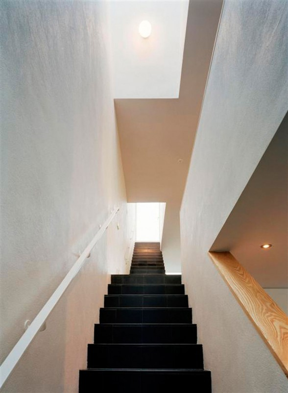 Nora House, Beautiful House Plans in Scandinavian Architecture - Staircase
