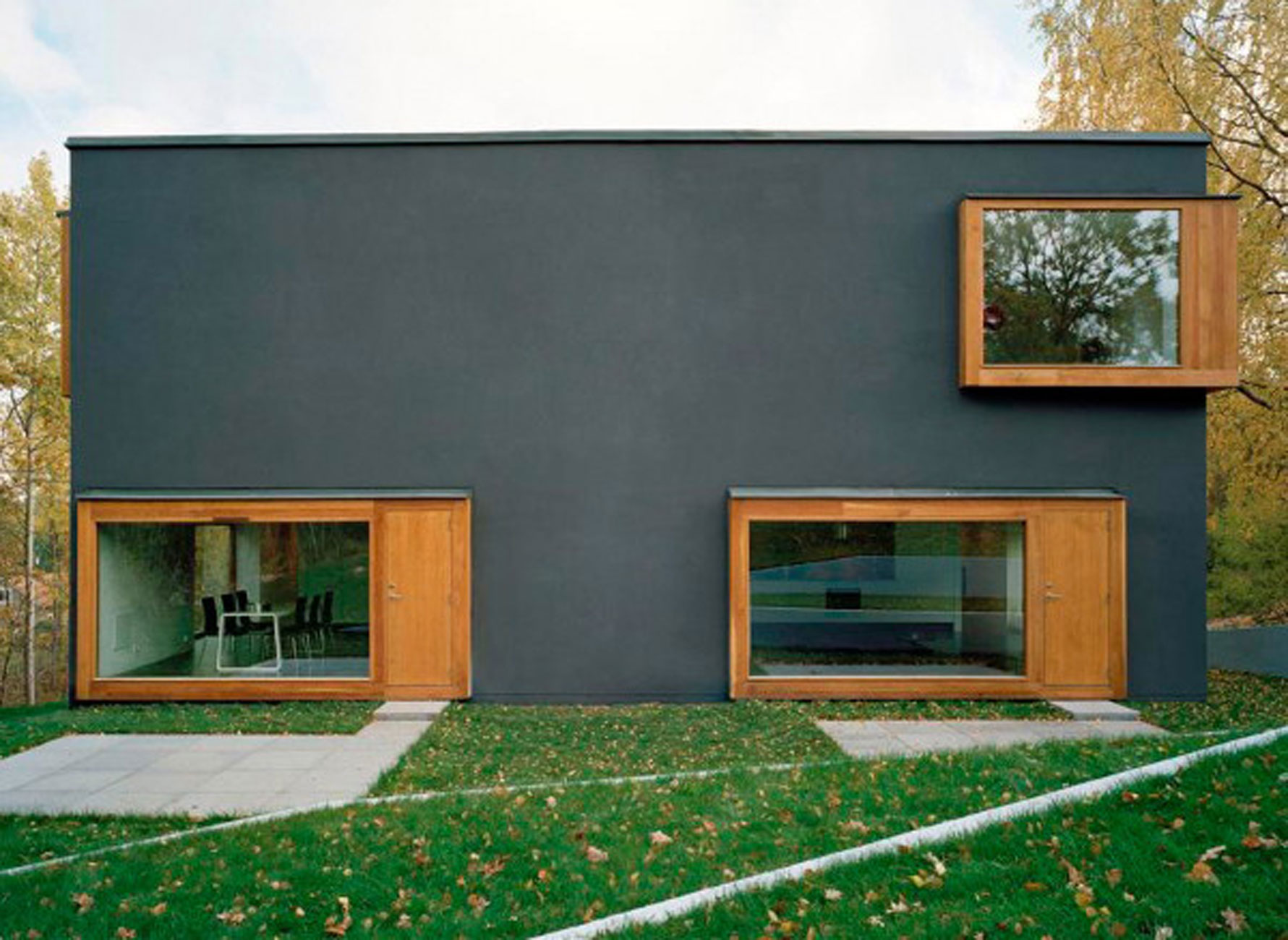 Nora house beautiful house plans in scandinavian for Modern scandinavian house plans