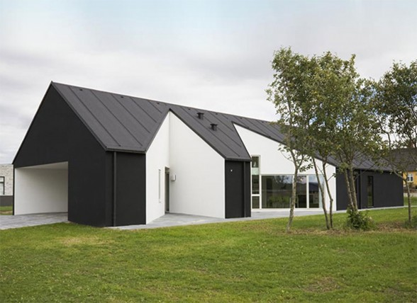 Solid Architecture of Country House in Denmark
