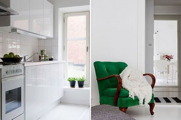 Swedish Interior Ideas in White Color - Furniture