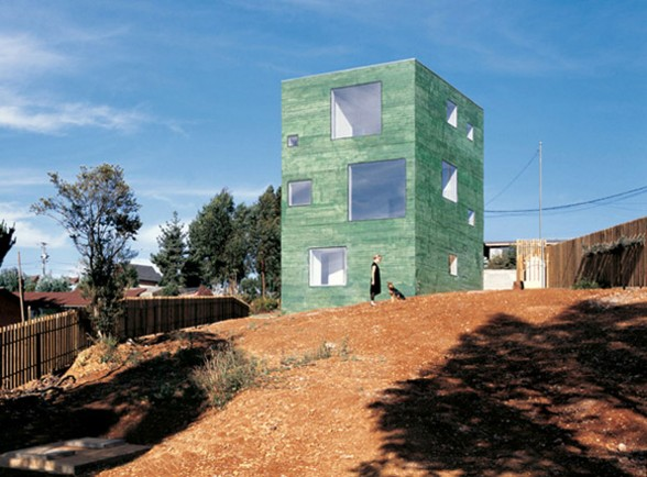 Three-Storey House Architecture in Chile by Pezo von Ellrichshausen
