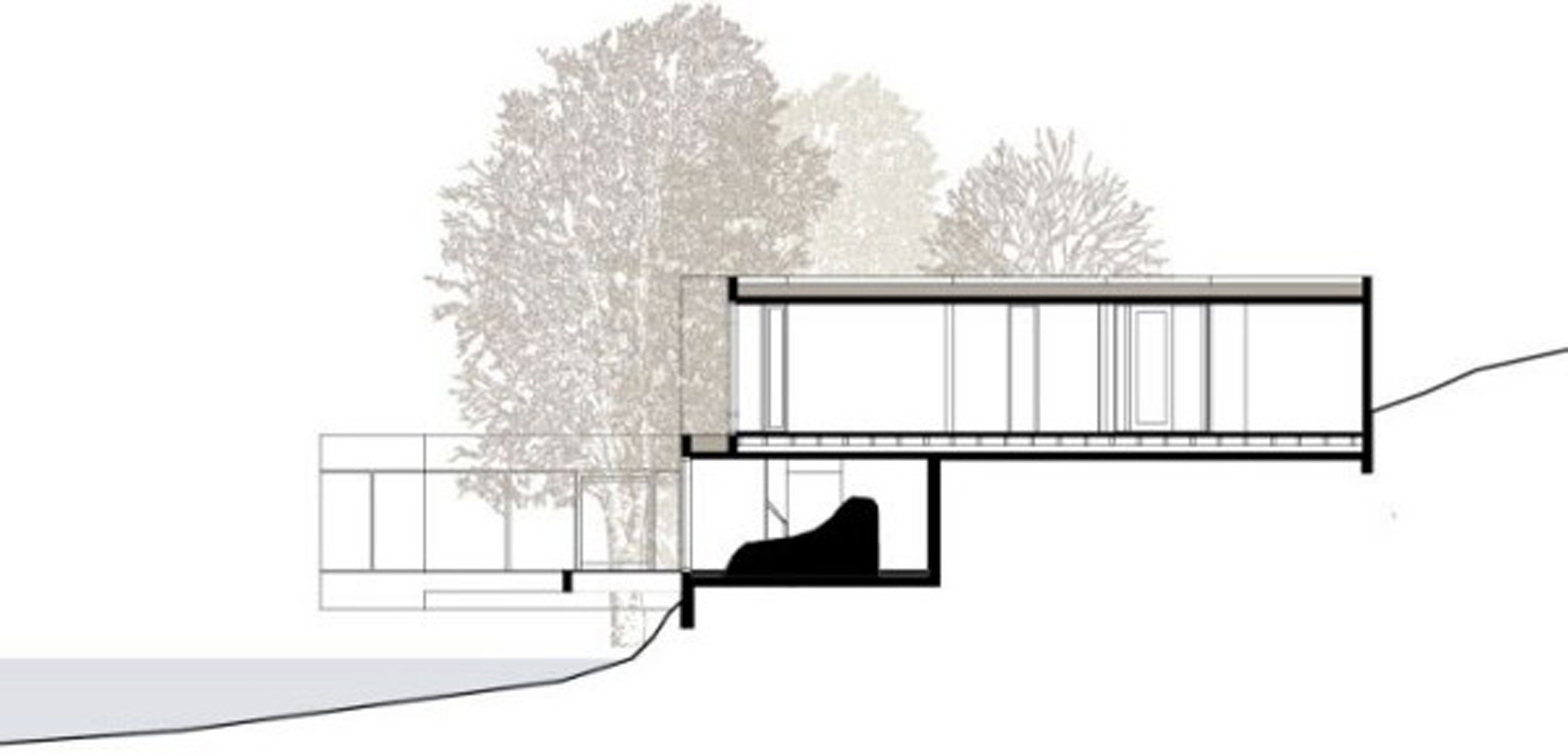 Treehouse, Geometric Guest House Design in China - Architecture Concept