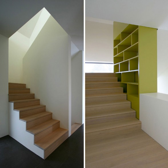 Two-Storey House Design with Beautiful Green Yard - Staircase