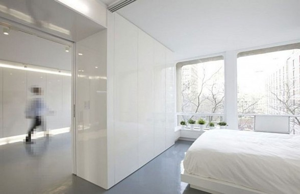 White Apartment Interior Ideas from IM Pei in New York - Decoration