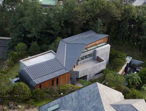 Z House, Stunning Architecture of a Modern House by Korean Architect