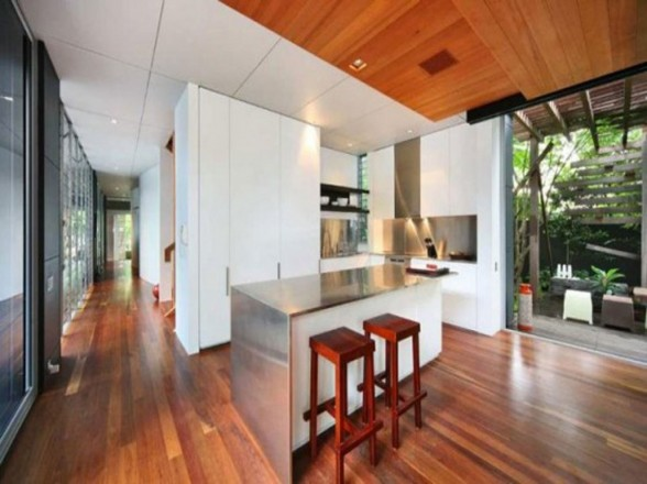 Manly and Modern, A Great Beach House Design for Men - Kitchen