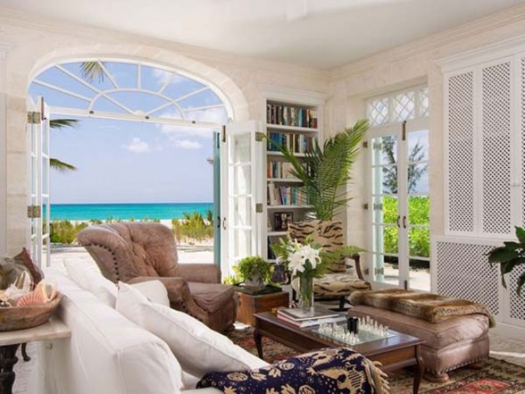 Classic Lucsious Barbadian Residence Interior Ideas in British Wes Indies - Furniture