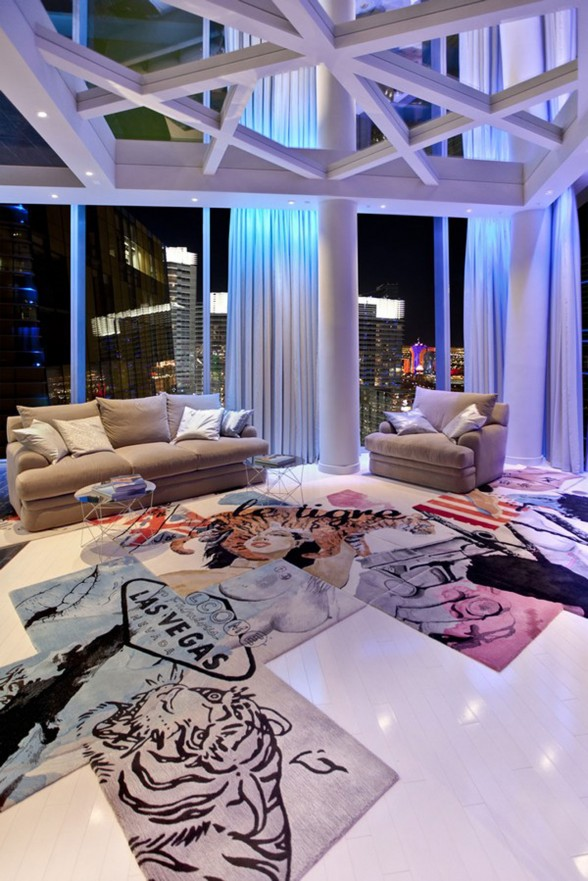 Amazing Apartment Ideas in Las Vegas Designed by Mark Tracy