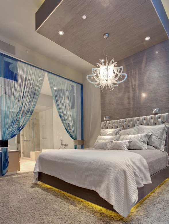 Amazing Apartment Ideas in Las Vegas Designed by Mark Tracy - Bedroom