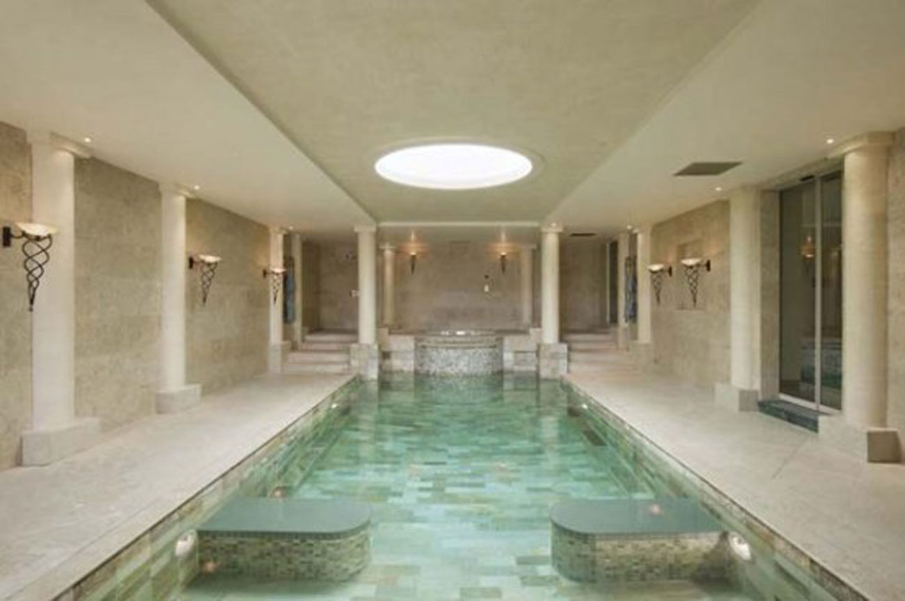 Beautiful Villa in Amazing Place in the World of Geneva - Indoor Pool