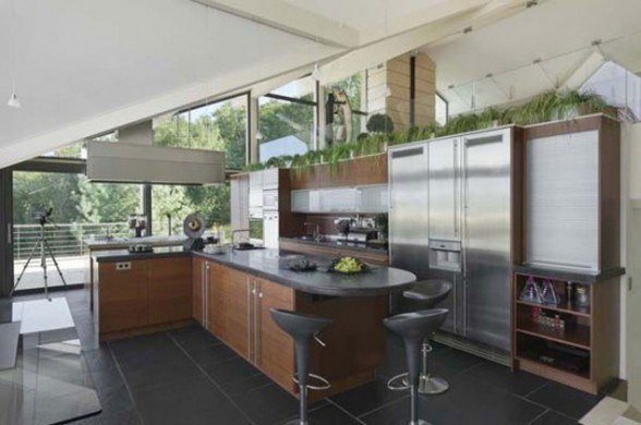 Beautiful Villa in Amazing Place in the World of Geneva - Kitchen