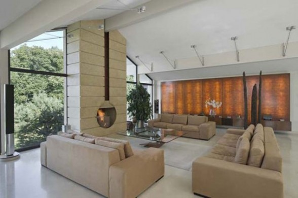Beautiful Villa in Amazing Place in the World of Geneva - Livingroom