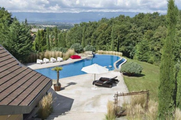 Beautiful Villa in Amazing Place in the World of Geneva - Panorama
