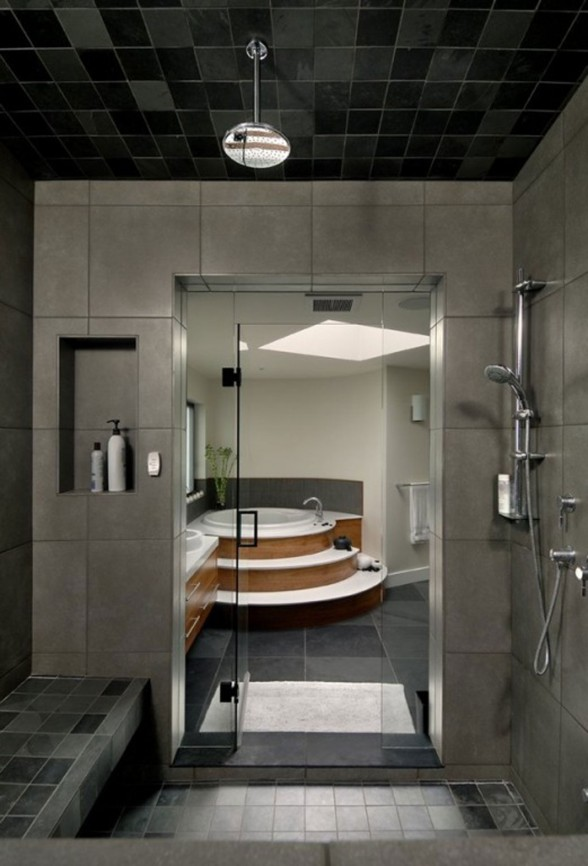 Luxurious Villa in the Middle of Beautiful Natural Environment from Keith Baker Studio - Bathroom