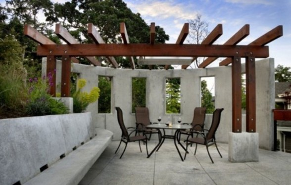 Luxurious Villa in the Middle of Beautiful Natural Environment from Keith Baker Studio - Outdoor Livingroom