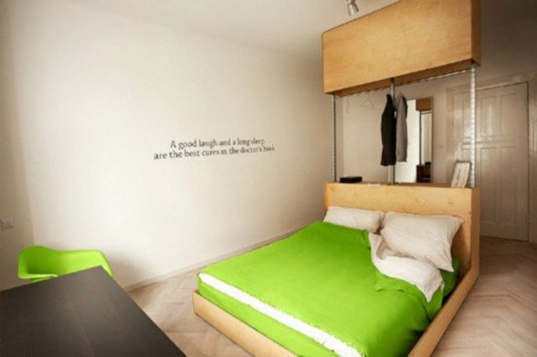 Minimalist Apartment Decoration, Inspirational Ideas from Modelina - Bedroom