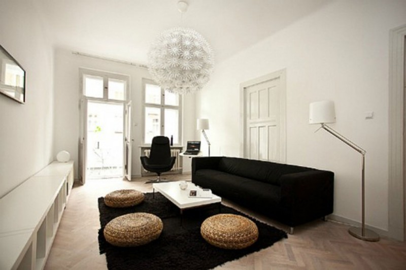 Minimalist Apartment Decoration, Inspirational Ideas From Modelina   Livingroom