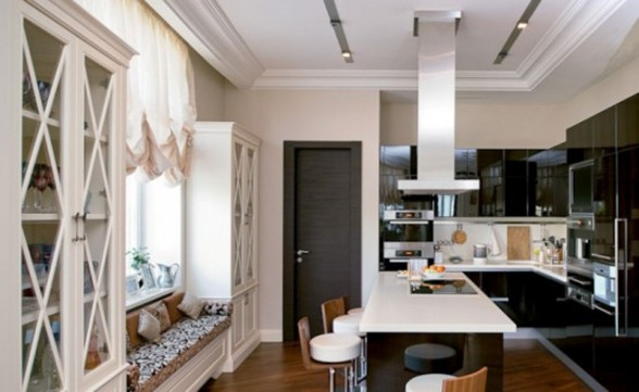 New Bride Apartment with Luxurious Look in Moscow - Kitchen