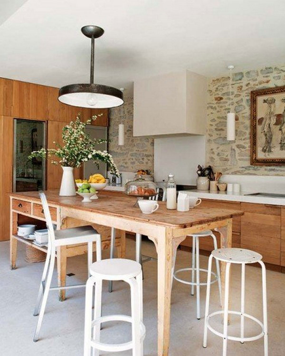 Clean And Clear Kitchen Dining Room Viahouse Com