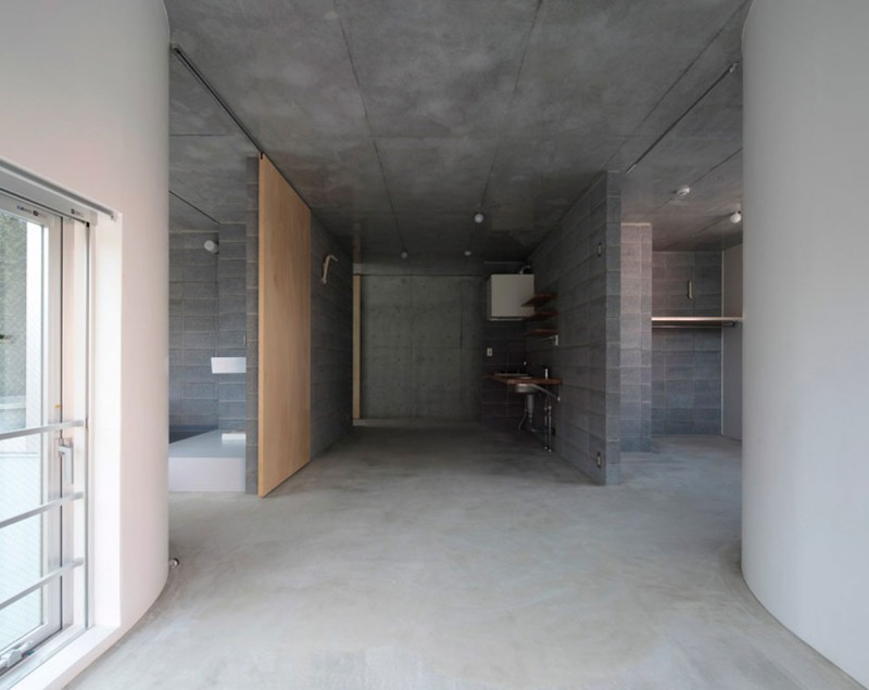 Concrete Urban Apartment Material