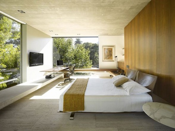 huge landscaping bedroom constructions