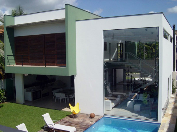 Minimalist View Front Home Designs