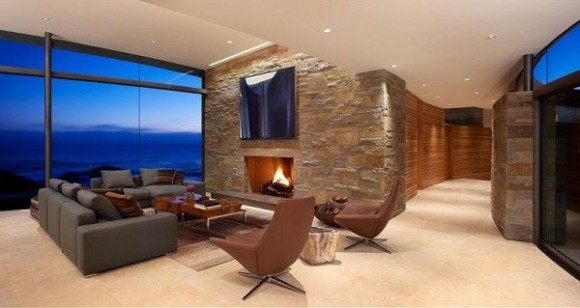 warm huge living room