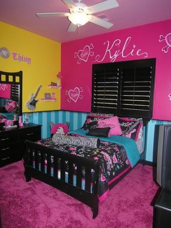 Teen Bedroom Decor Girls Bedroom Rockstar