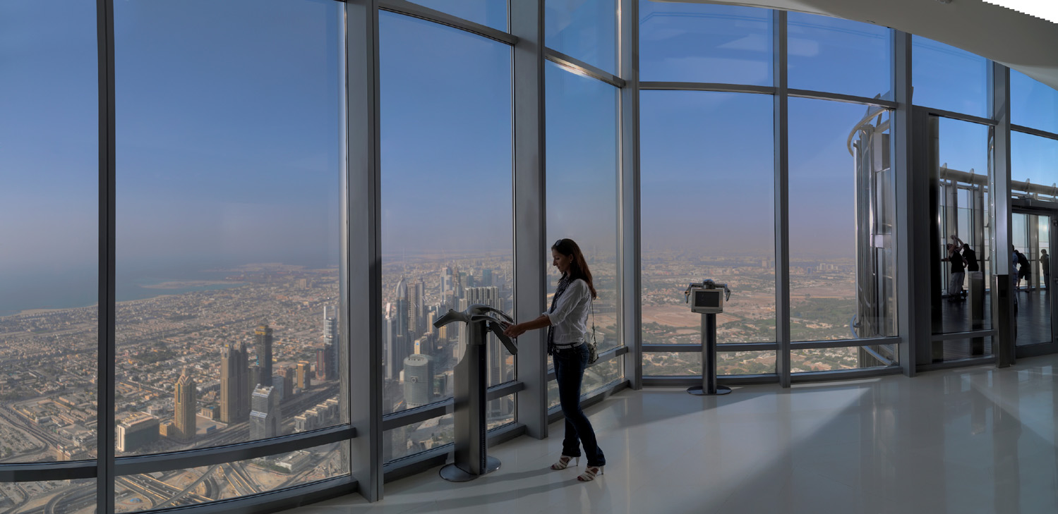 View from At the Top, Burj Khalifa