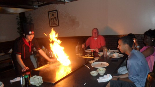 japanese steak house dinning