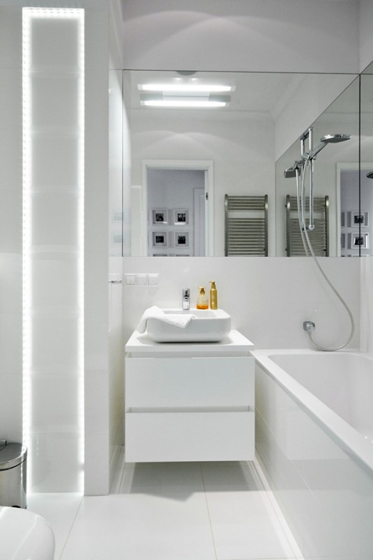 Bathroom Elements Modern Breezy Penthouse