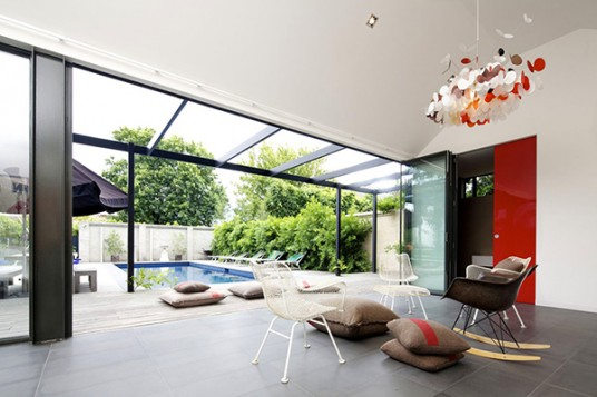 Open Space View Modern House